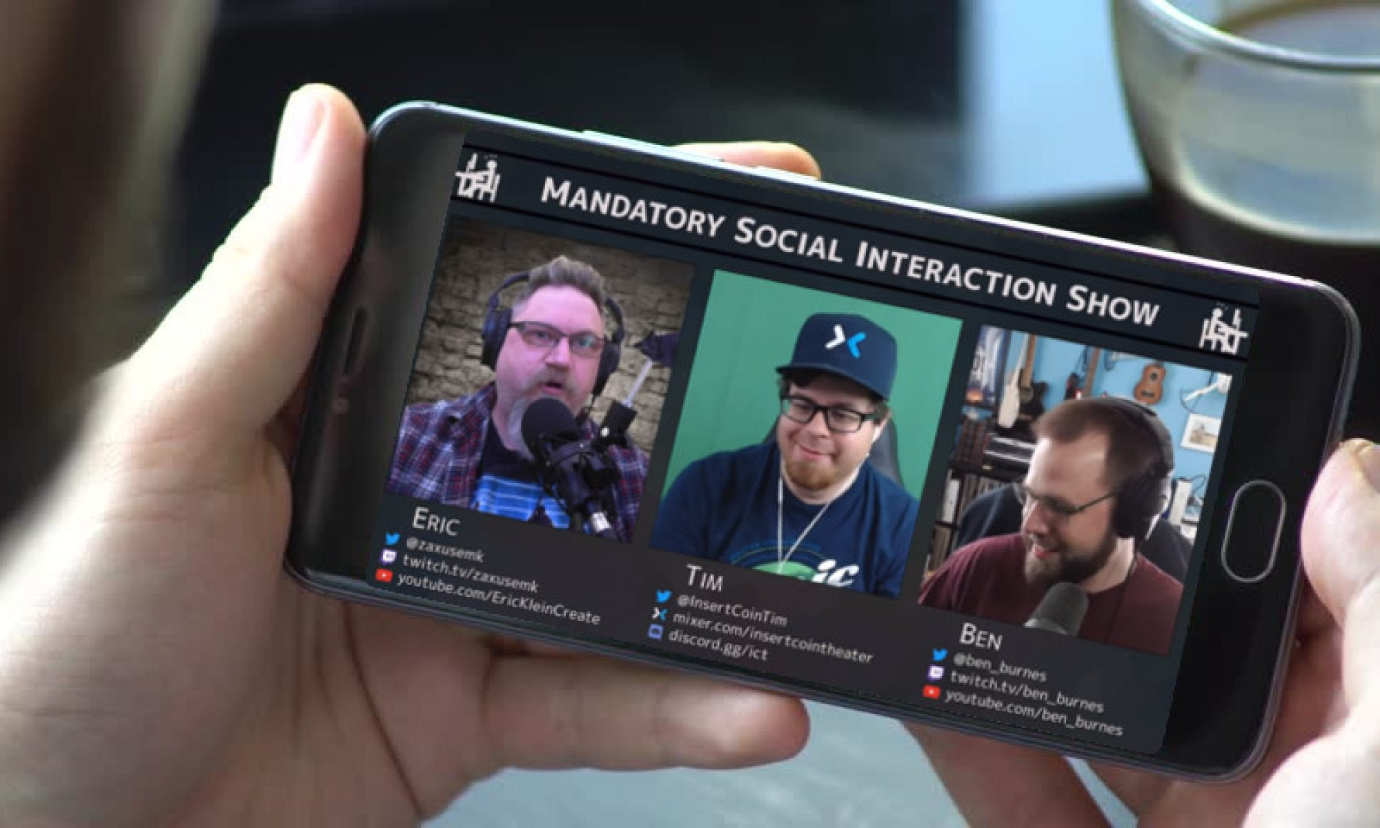 Mandatory Social Interaction Show